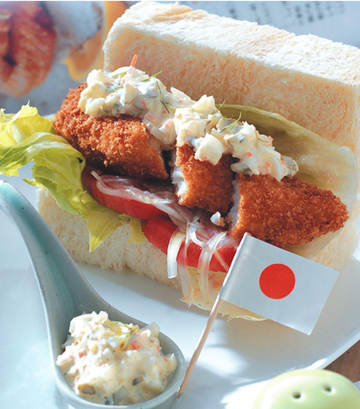 食譜:白魚身夾堡