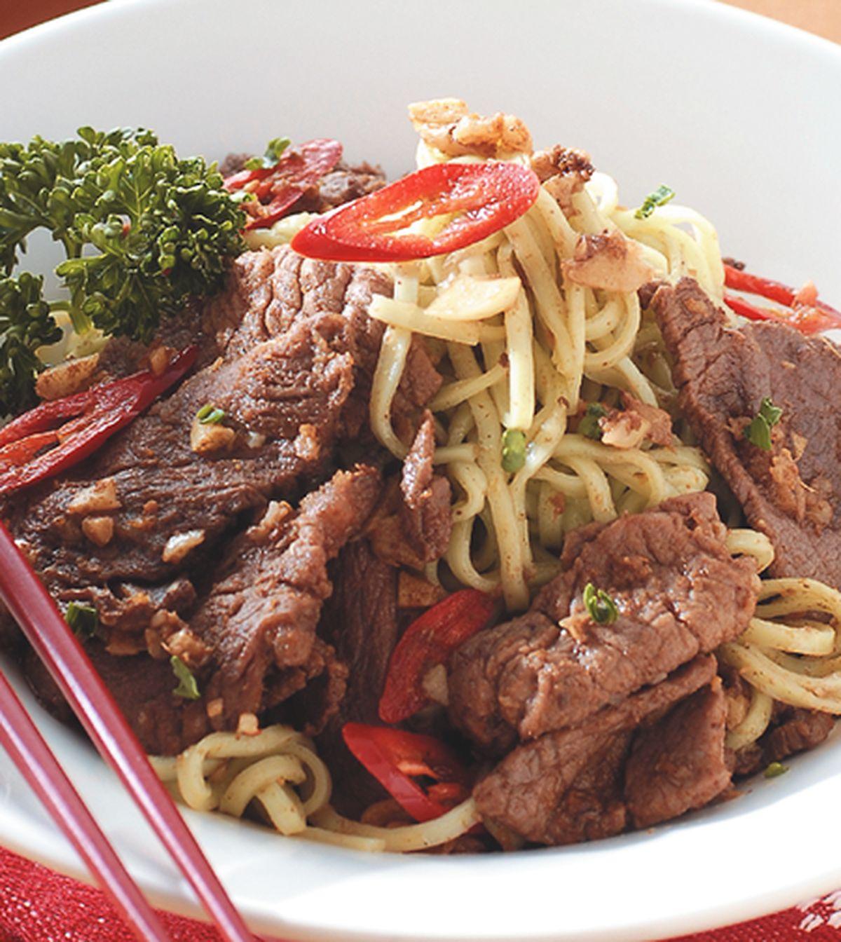 食譜:沙茶羊肉麵(1)