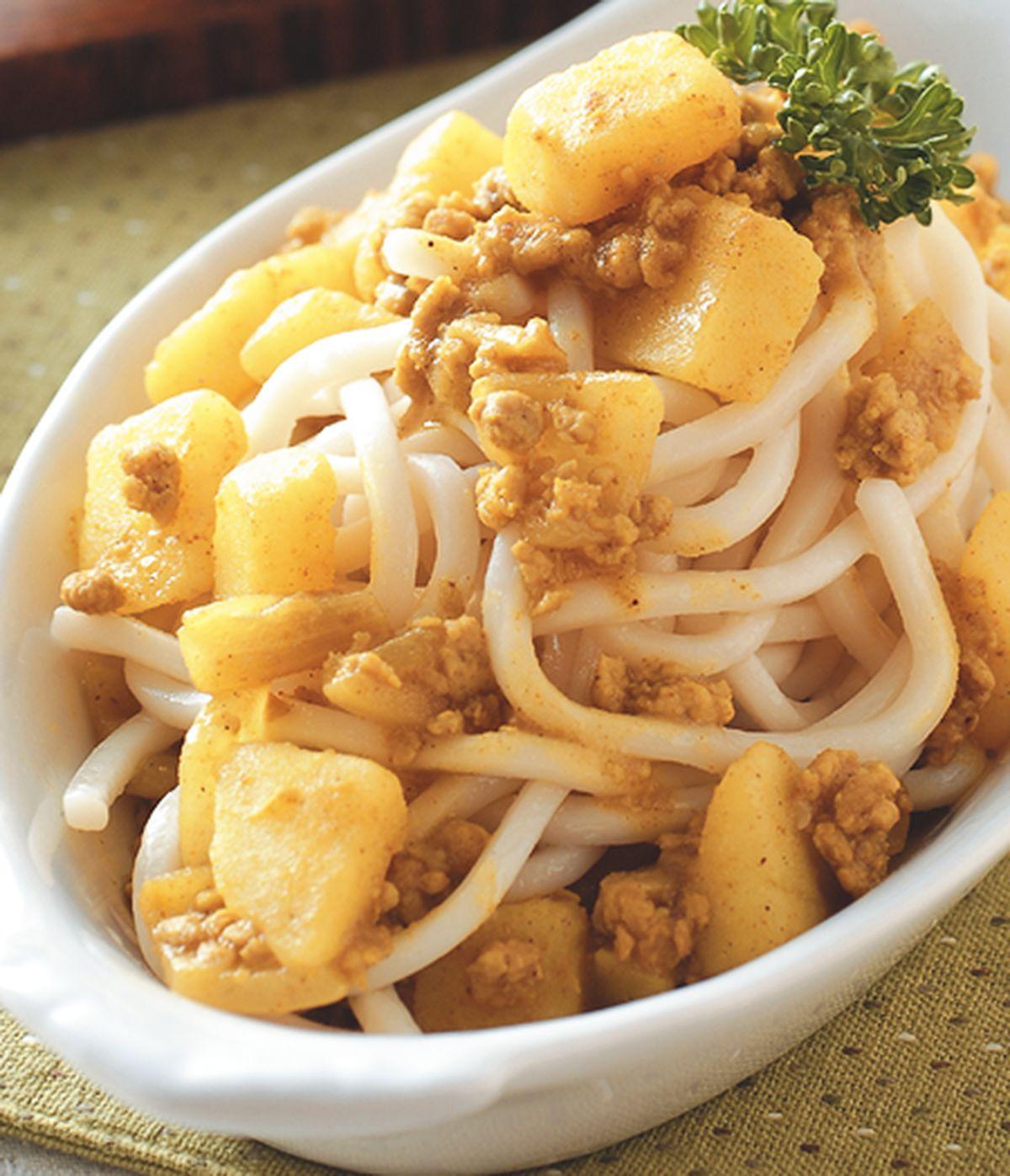 食譜:洋芋咖哩醬麵