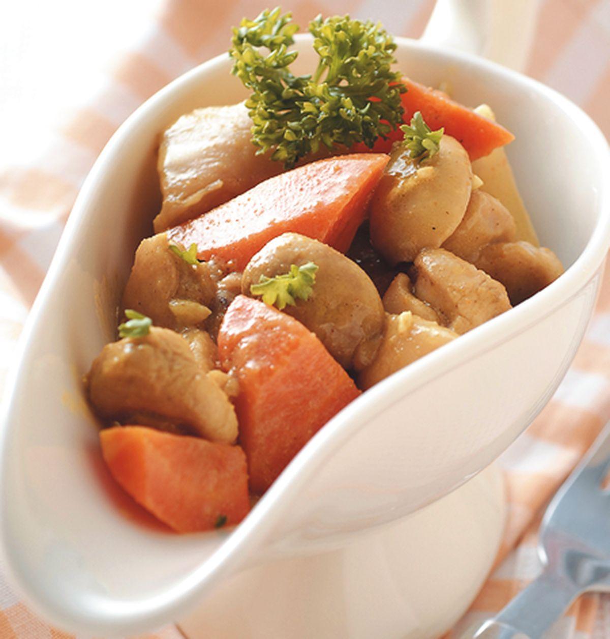 食譜:咖哩雞肉醬