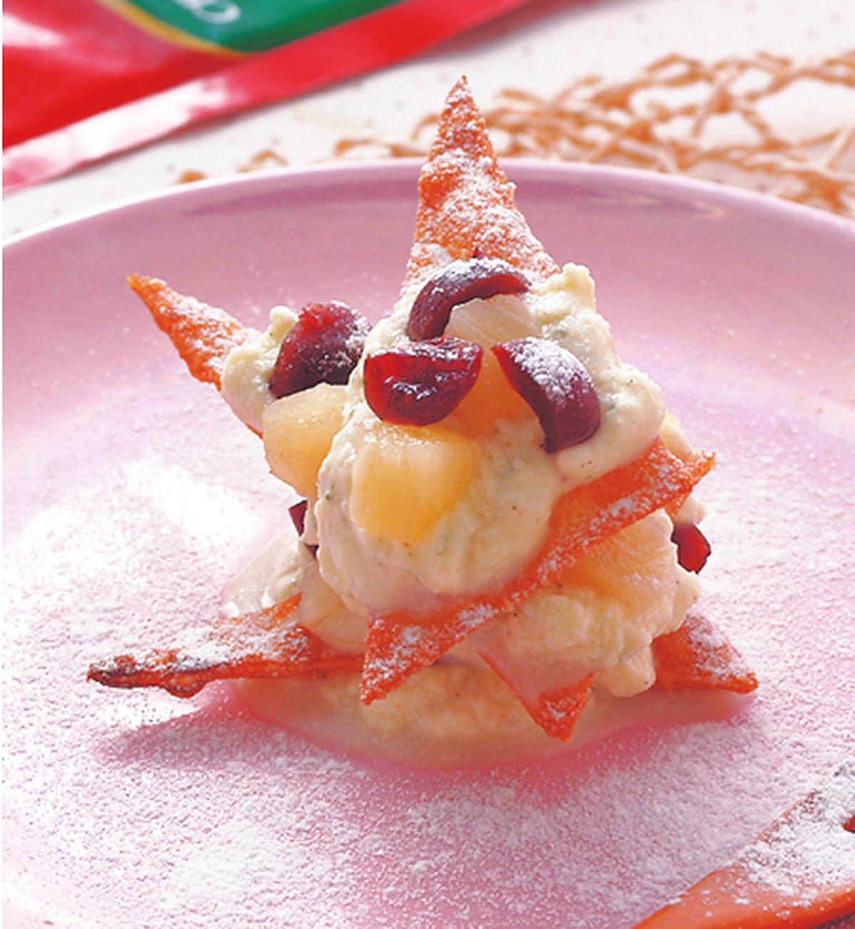 食譜:香濃起司水果塔
