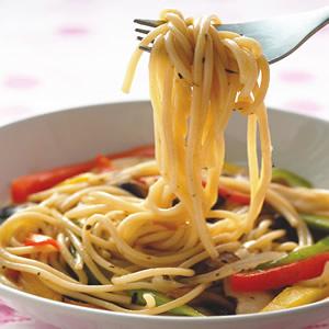 野菇蔬菜義大利麵