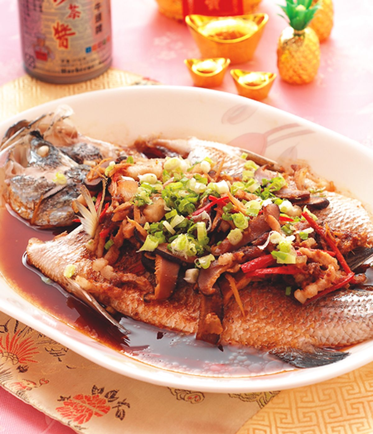 食譜:台味蒸魚