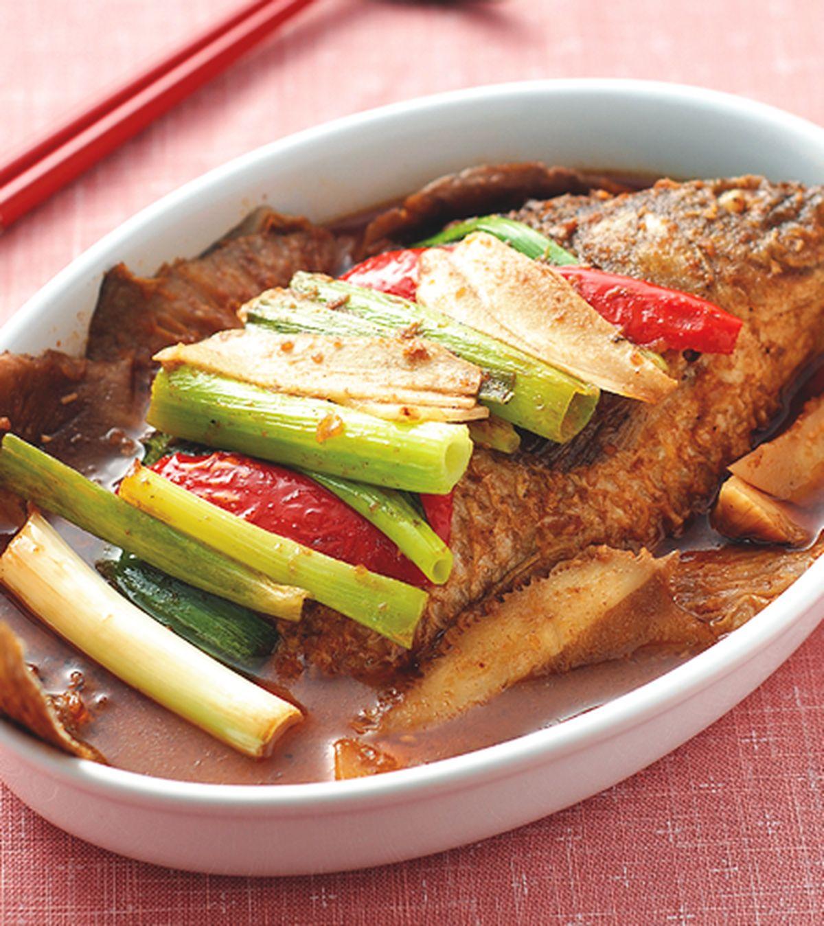 食譜:香辣鯉魚煲