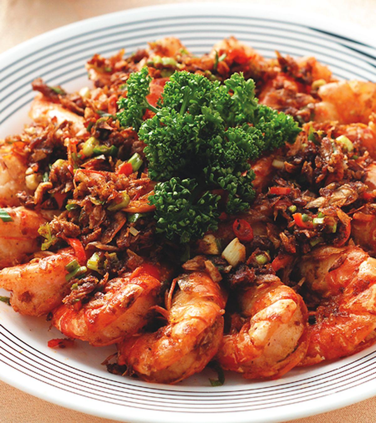 食譜:辣爆鮮蝦