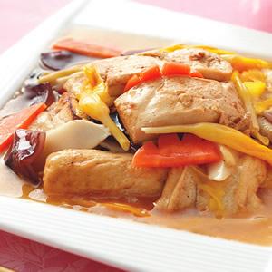沙茶羅漢燒豆腐