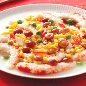 玉米燴素蝦