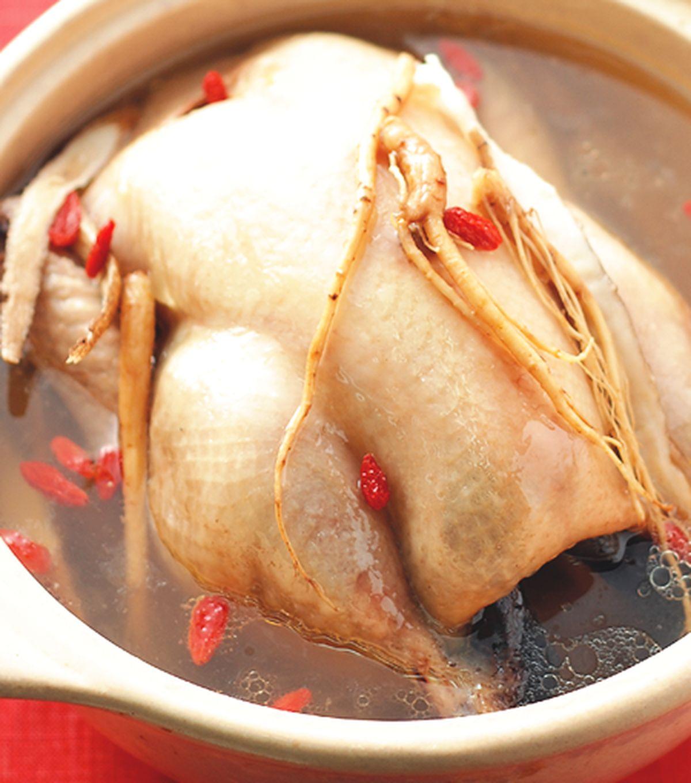 食譜:蔘鬚燉雞湯