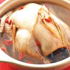 蔘鬚燉雞湯