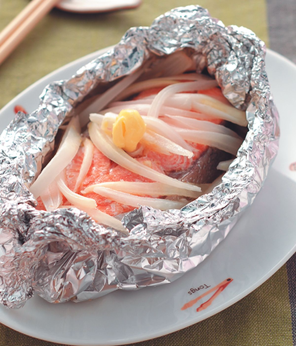 食譜:鹽烤鮭魚(1)