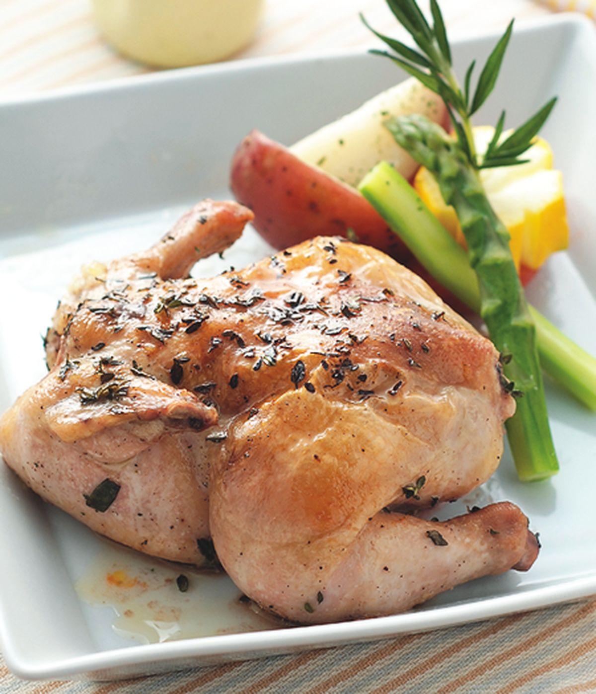 食譜:法式爐烤香料春雞