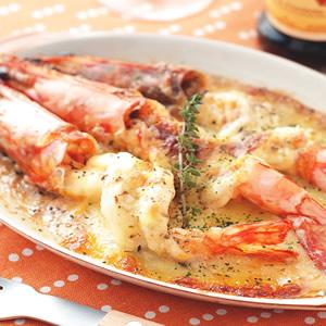 焗烤蒜香明蝦