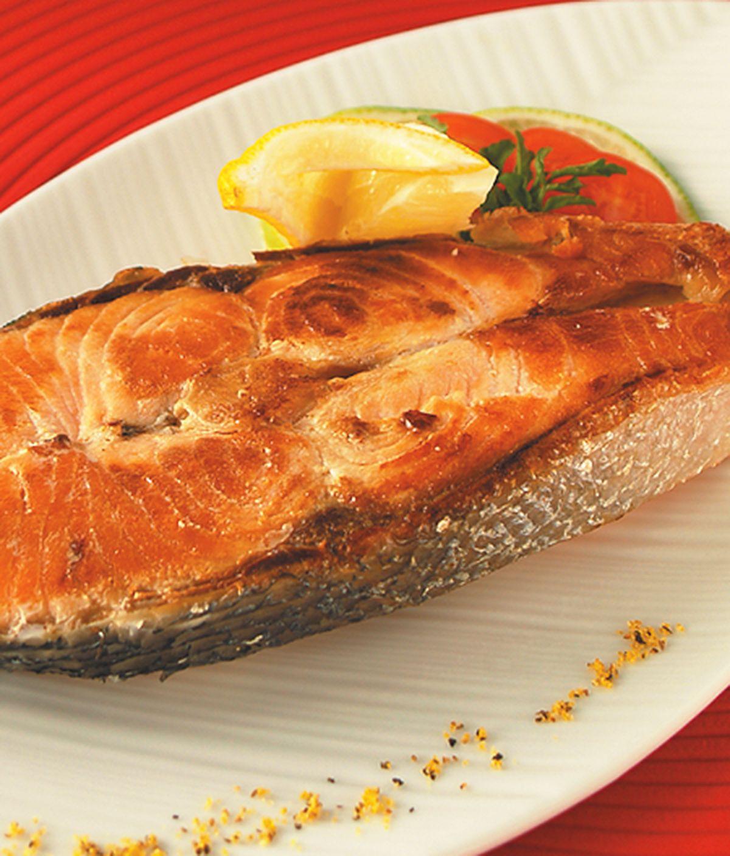 食譜:原味煎鮭魚