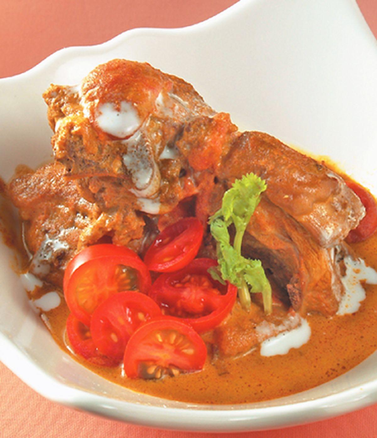 食譜:南洋咖哩椰汁雞