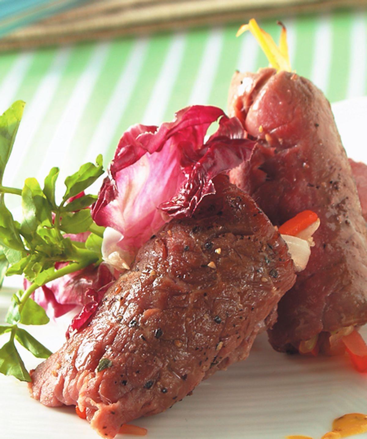食譜:蔬菜牛肉卷