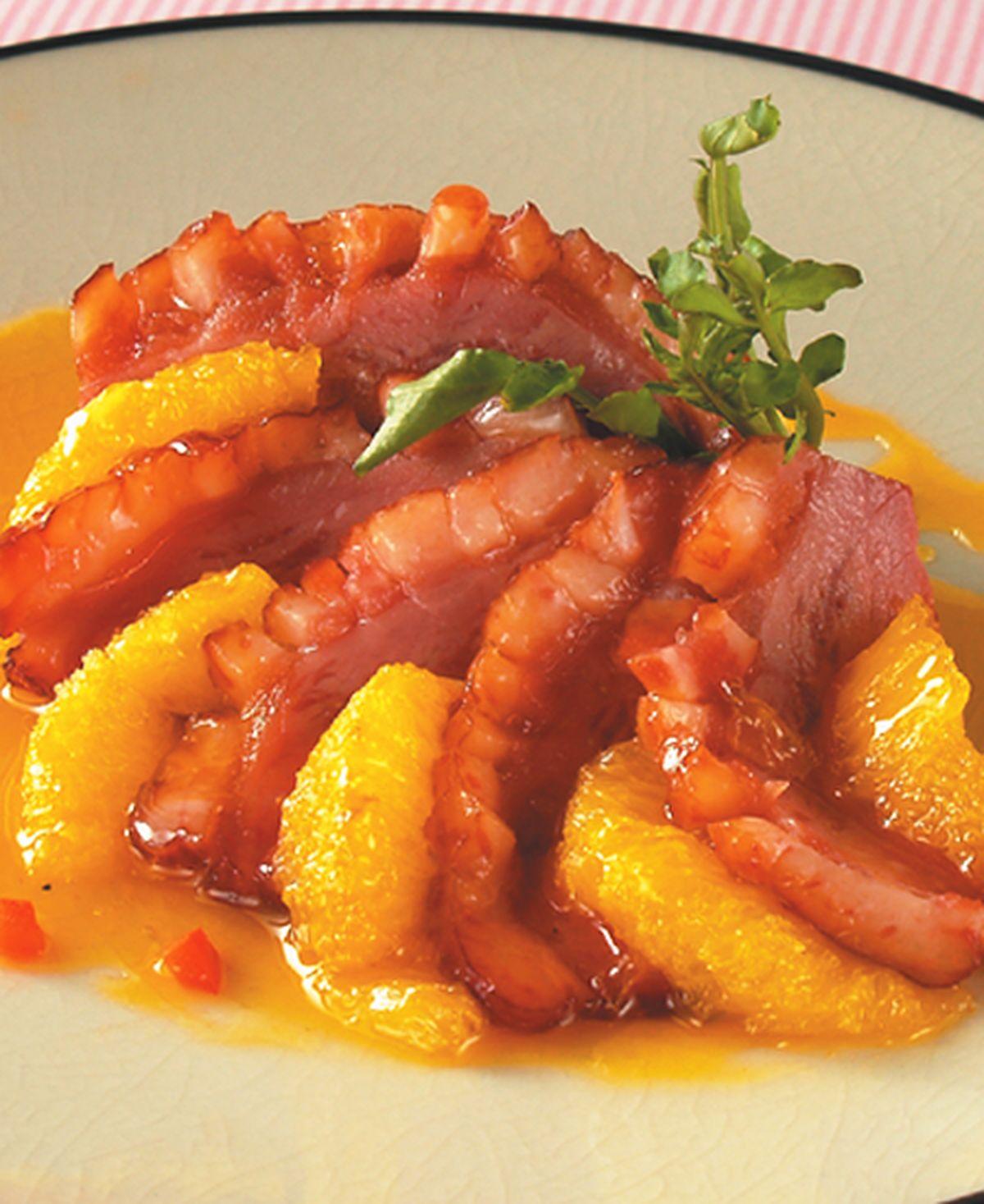 食譜:法式橙汁鴨胸