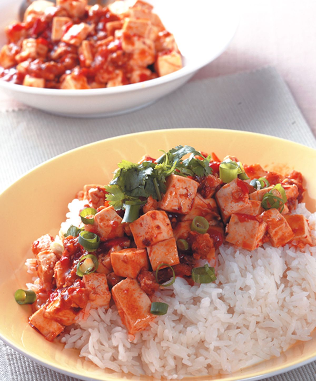 食譜:麻婆豆腐燴飯