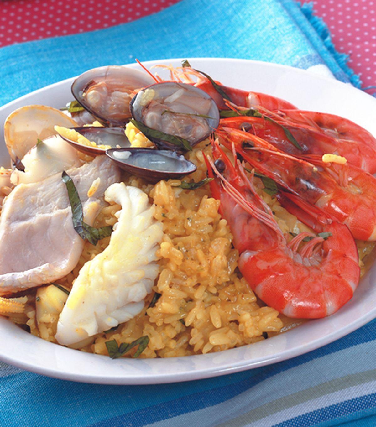 食譜:西班牙海鮮燉飯