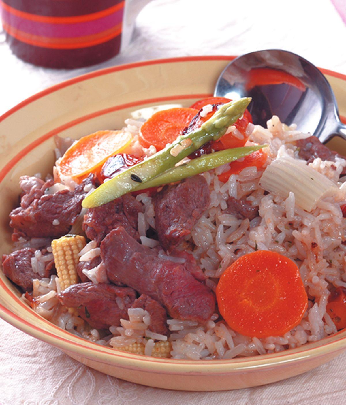 食譜:番茄牛肉燉飯
