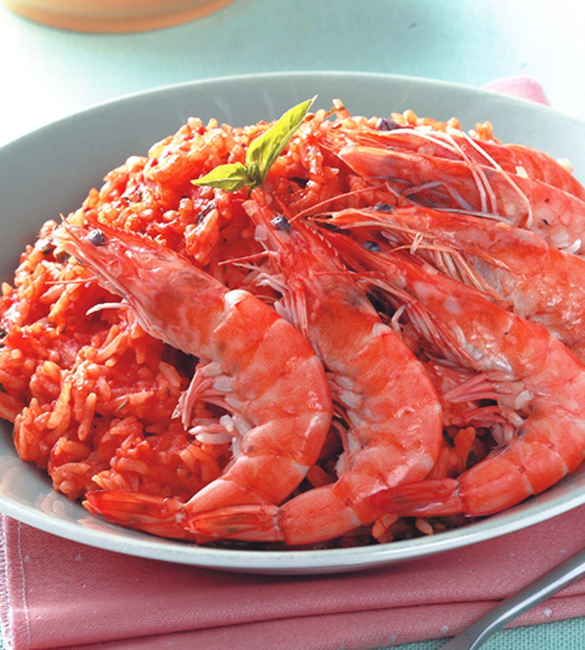 食譜:鮮蝦番茄燉飯