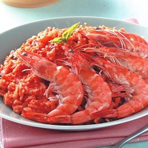 鮮蝦番茄燉飯