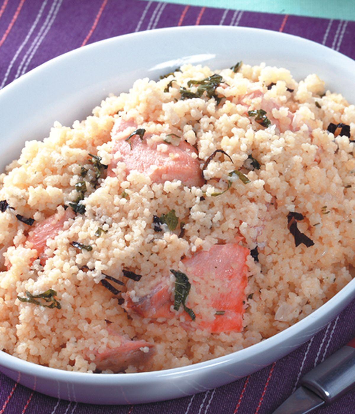 食譜:鮭魚奶油燉飯