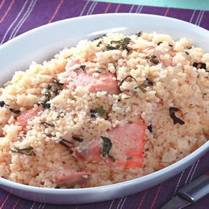 鮭魚奶油燉飯