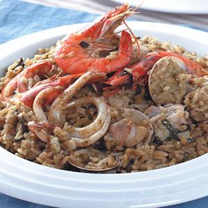 青醬海鮮燉飯