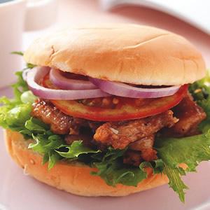 紐奧良烤雞堡