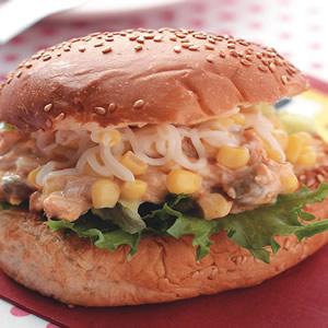 黃金鮪魚沙拉堡