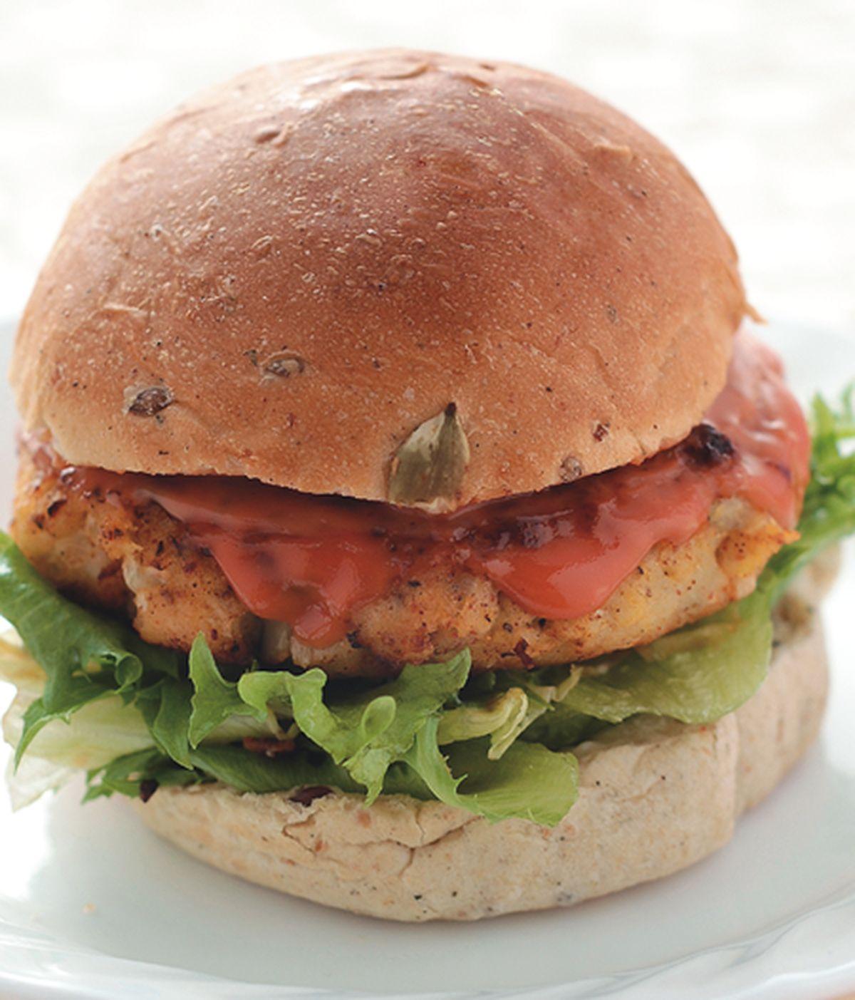 食譜:辣味鮮魚堡