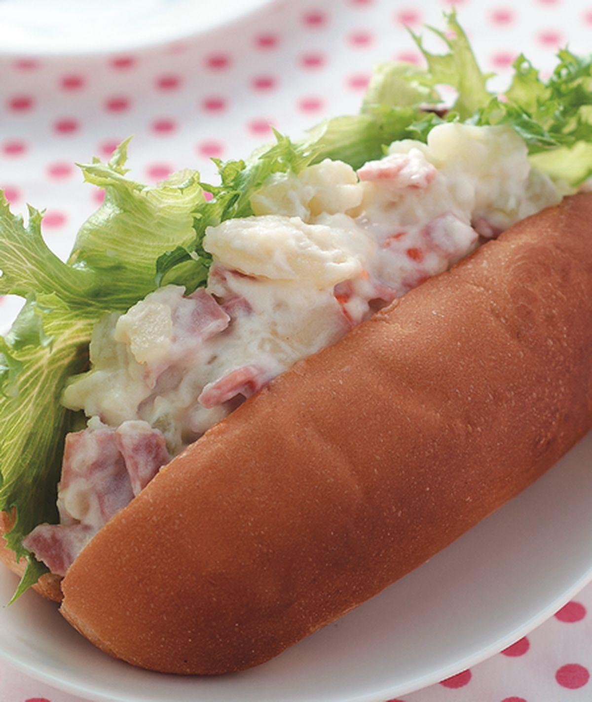 食譜:火腿馬鈴薯大亨堡
