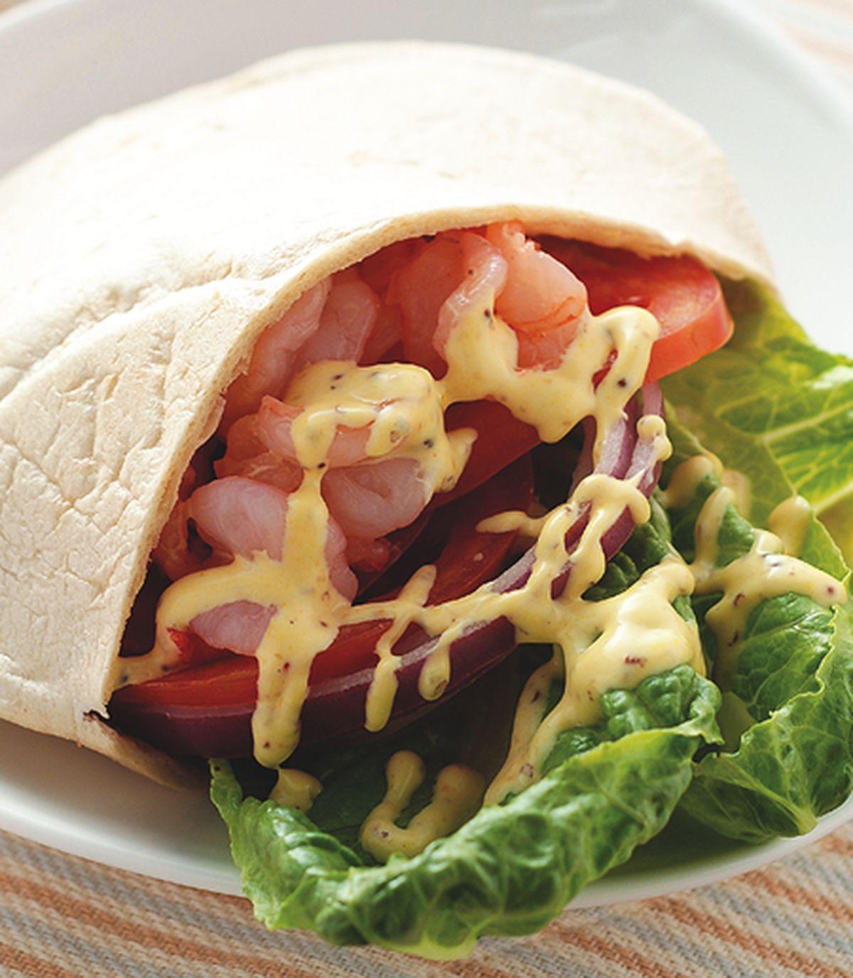 食譜:義式凱撒鮮蝦口袋餅