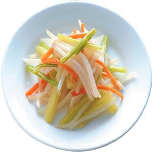 芹菜炒銀芽