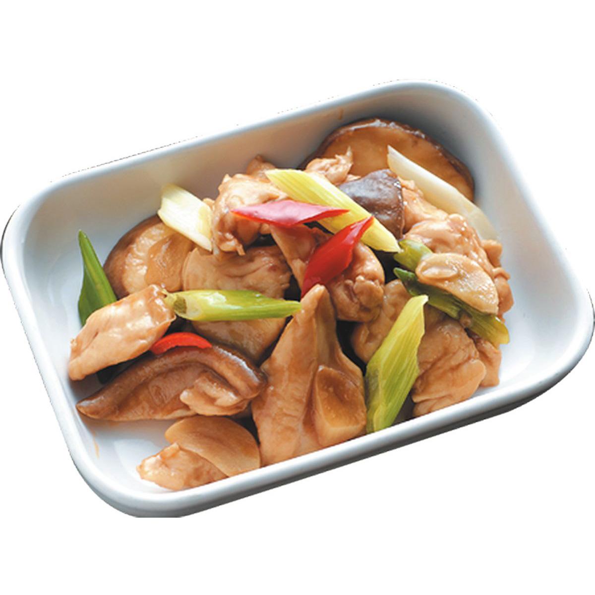 食譜:香菇炒雞肉