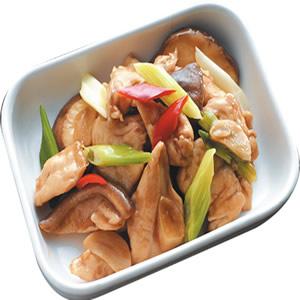 香菇炒雞肉