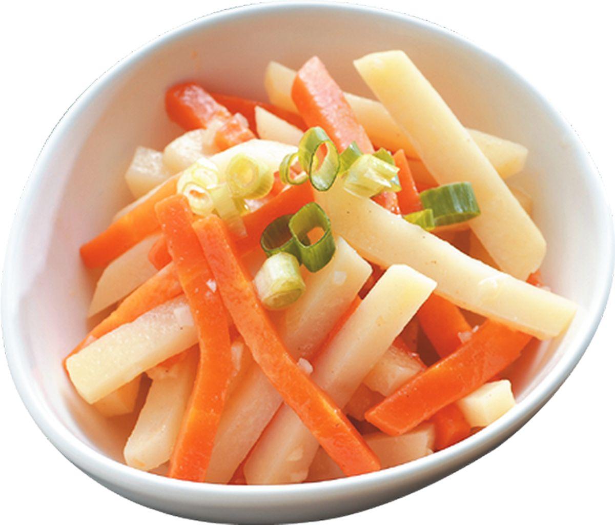 食譜:紅蘿蔔炒馬鈴薯