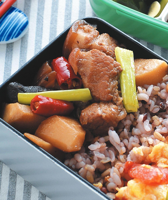 食譜:筍塊燜肉