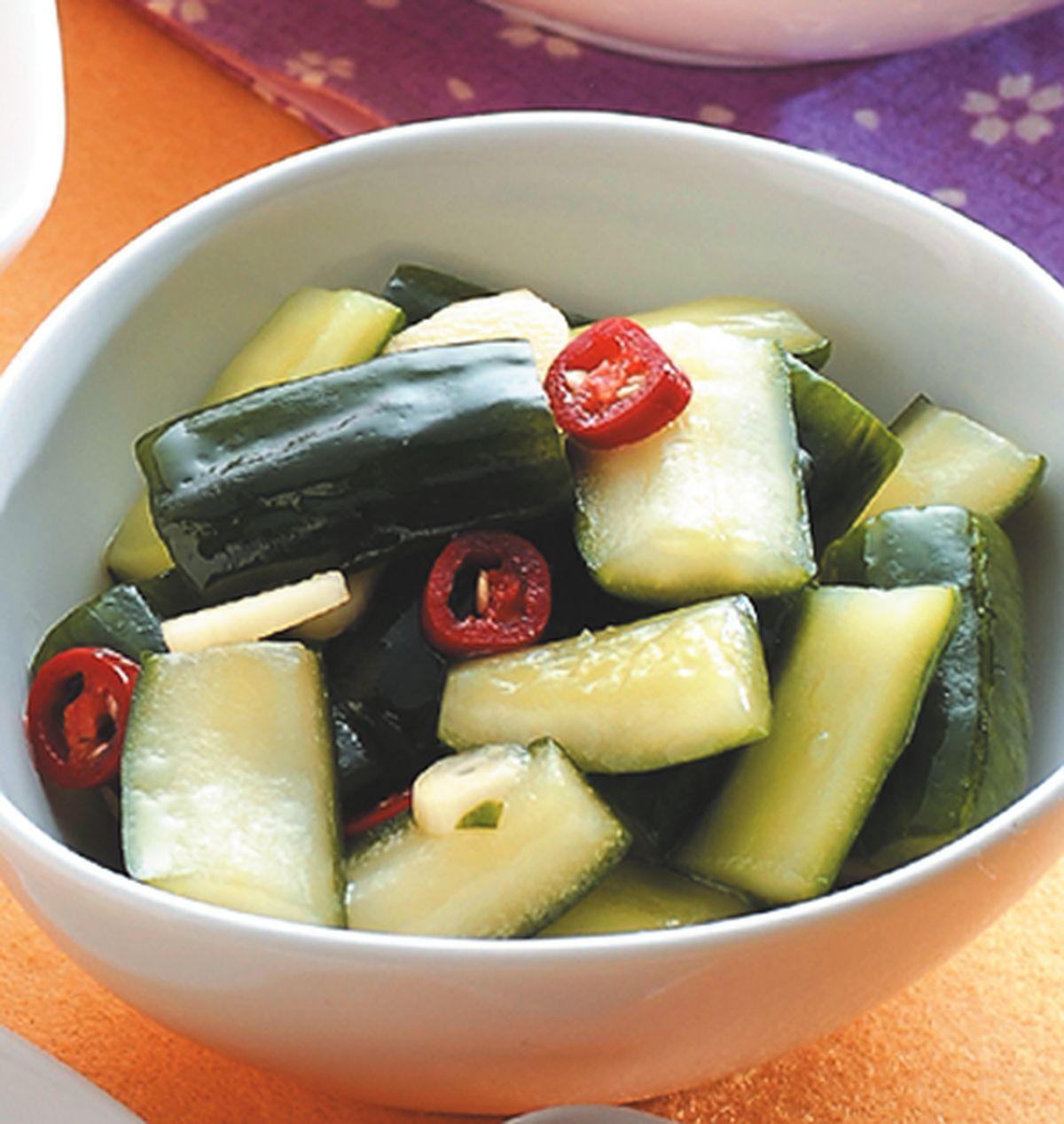 食譜:涼拌小黃瓜(1)