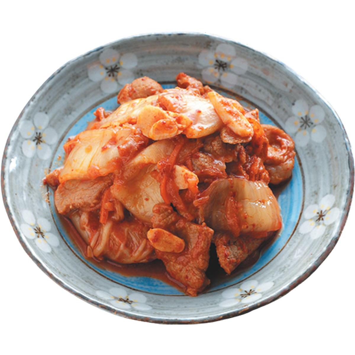 食譜:泡菜炒肉片(1)