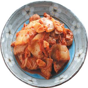 泡菜炒肉片(1)
