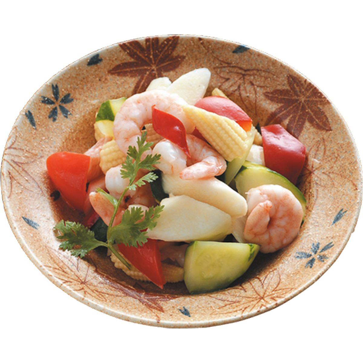 食譜:鮮蔬炒蝦仁
