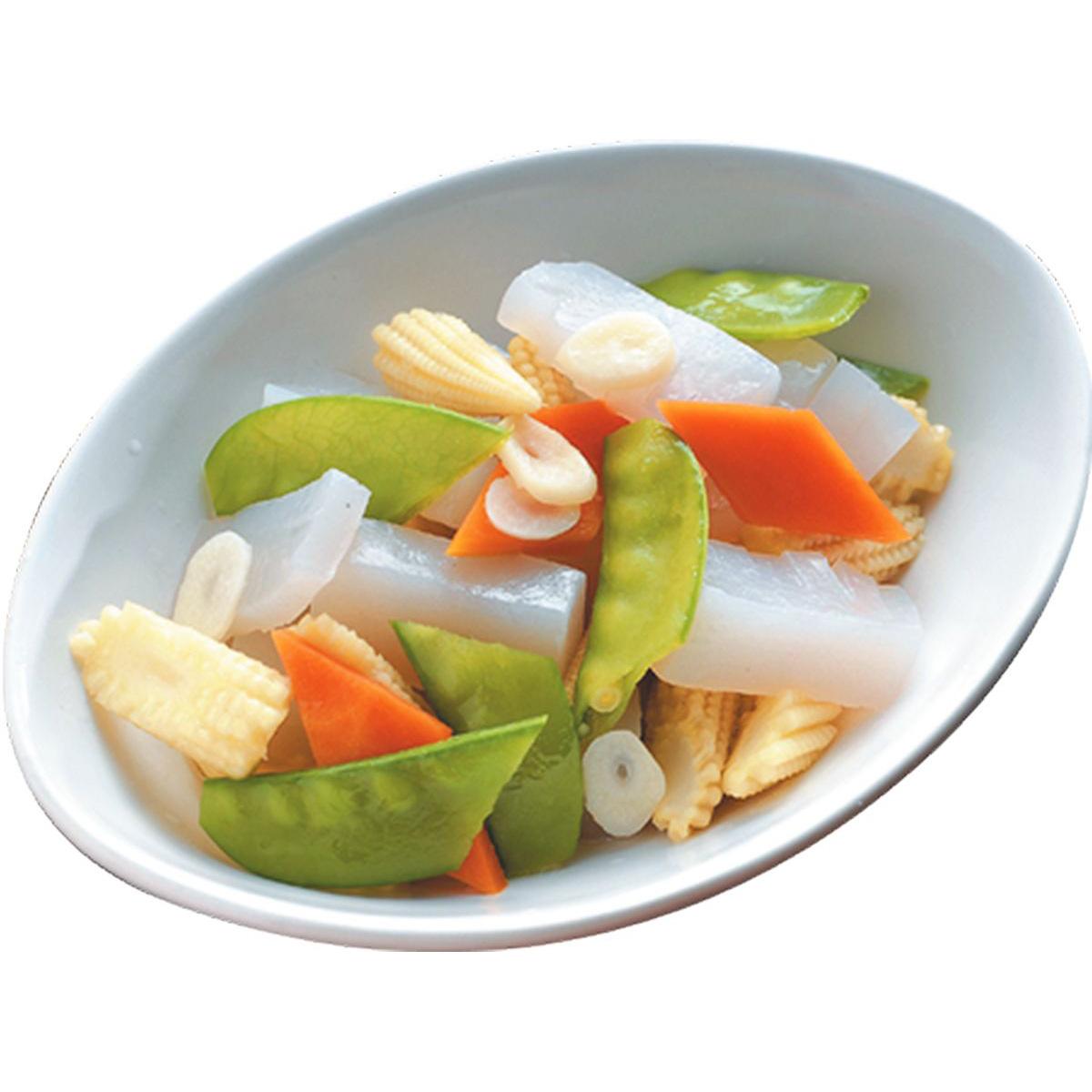 食譜:玉米筍炒蒟蒻