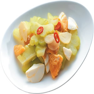 鹹蛋苦瓜(8)