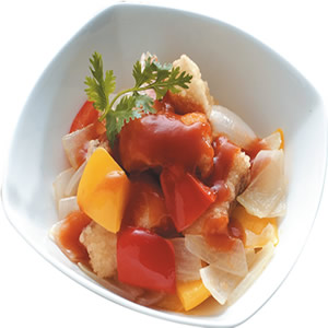 茄汁魚片(2)