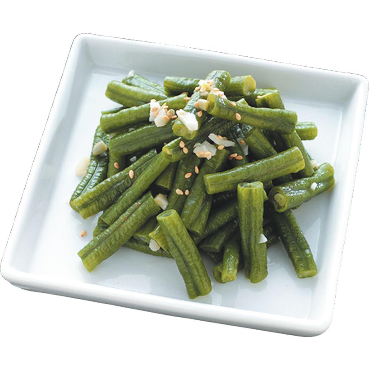 食譜:芝麻炒長豆