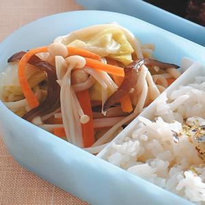 金針菇炒大白菜