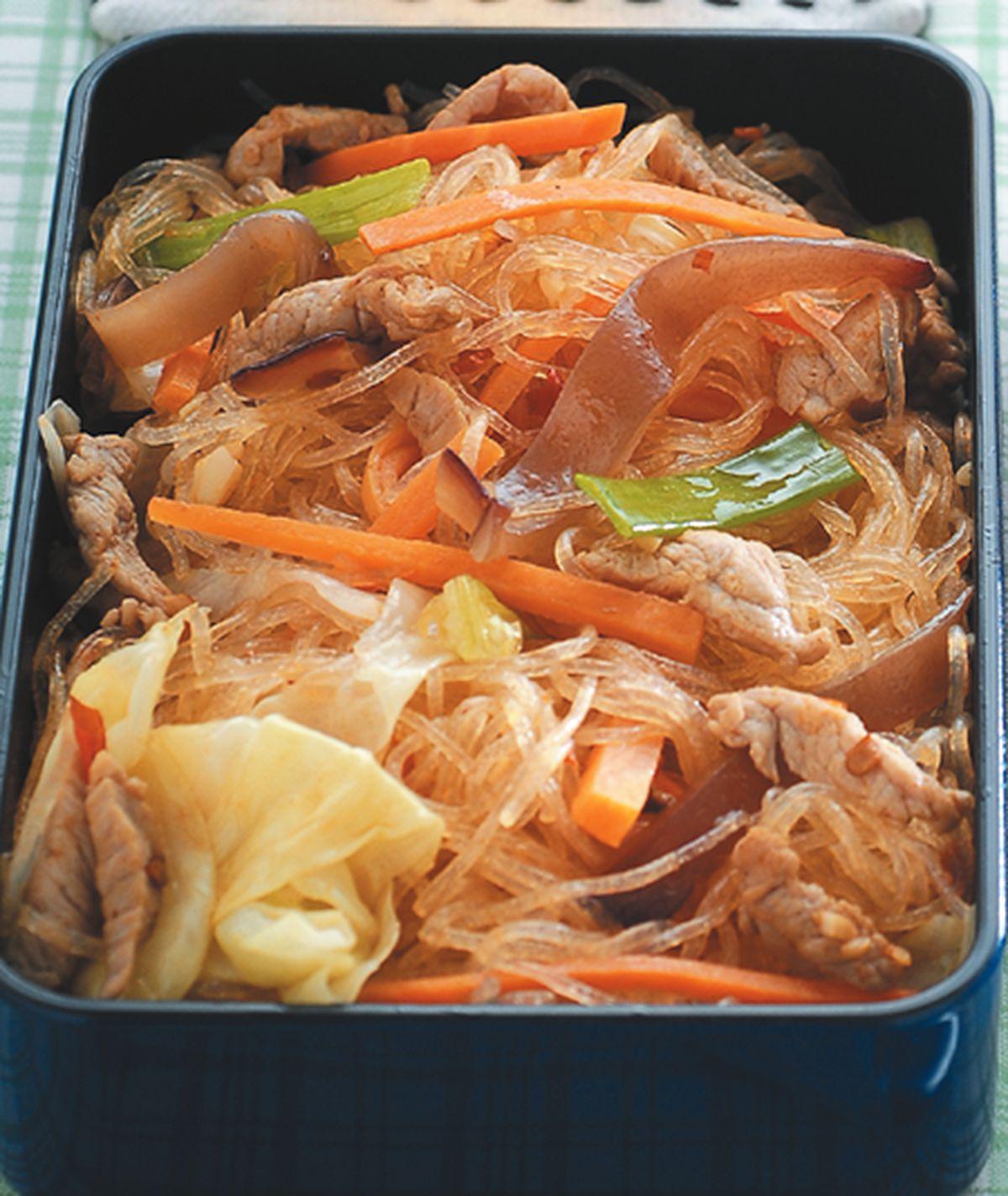 食譜:肉絲炒冬粉(1)