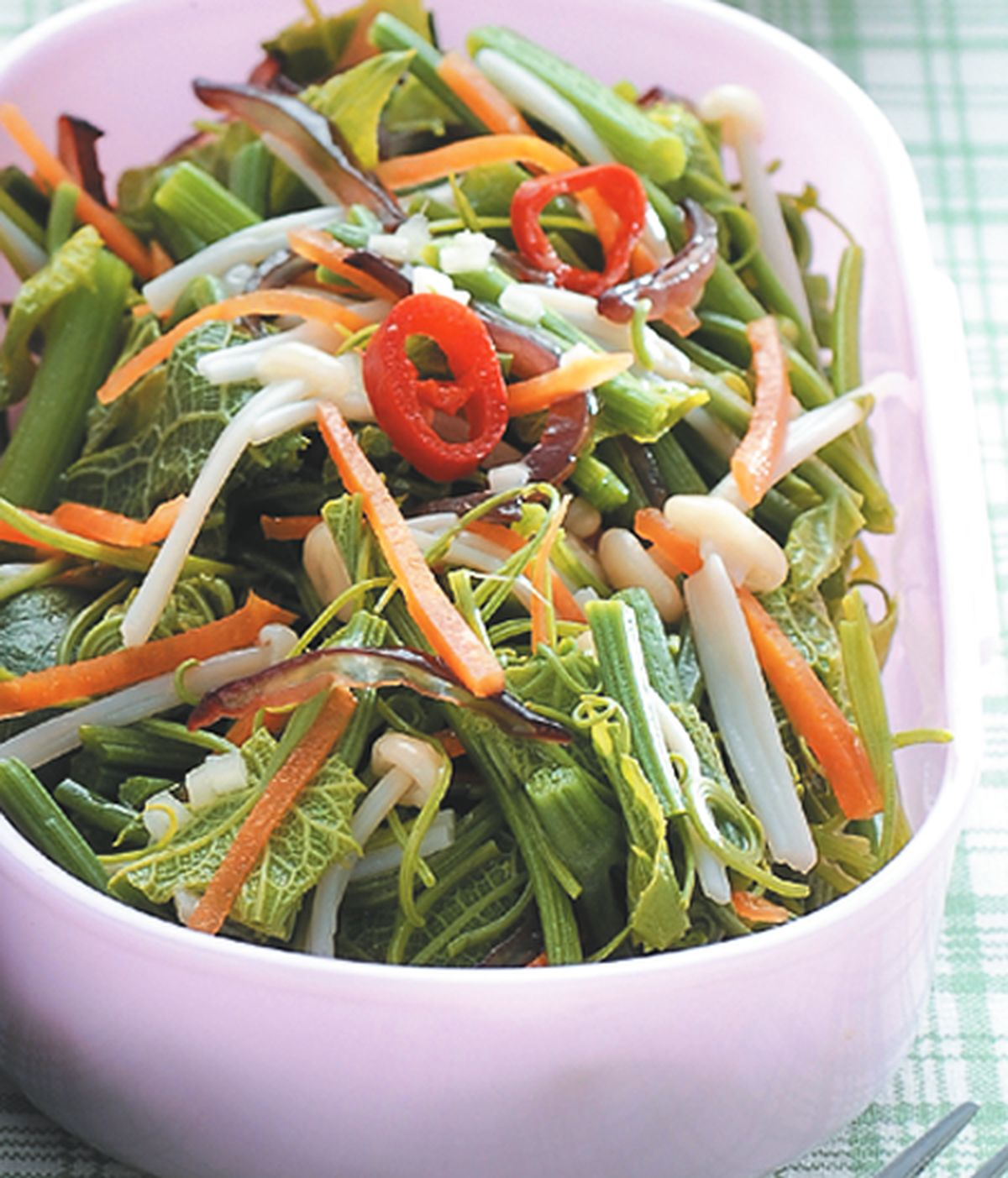 食譜:涼拌龍鬚菜