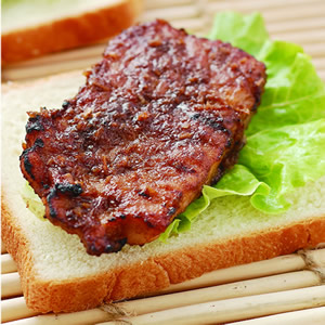 沙茶香芧烤豬排